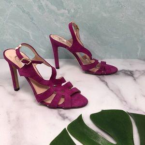 SJP Sarah Jessica Parker Strappy Heels 8 B1